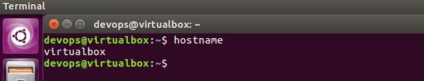 how to change hostname in ubuntu linux