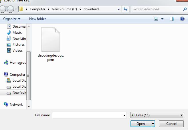 Convert Pem To Ppk Using Puttygen in Windows-download puttygen